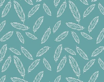 170001 Feathers Teal