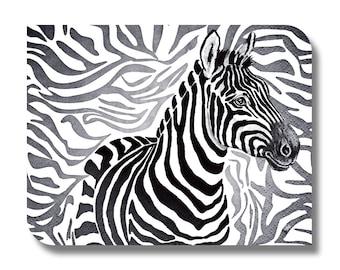 Zebra paper napkin for decoupage, mixed media, collage, scrapbooking x 1. No. 1221 Zebra