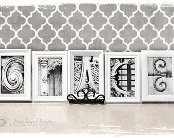 4x6 Letter Prints | QUICK SHIP Alphabet Photography | Individual 4x6 Letter | Photo for Name Frames | Architectural Details