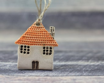 Wall ornament House ornament Holidays decor Wall hanging Holiday tree ornaments