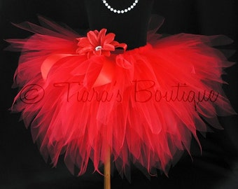 Baby Tutu - Sewn Infant Toddler Pixie Tutu - Design Your Own Custom Sewn 12'' 3 Tiered Layered Pixie Tutu - newborn up to 2T