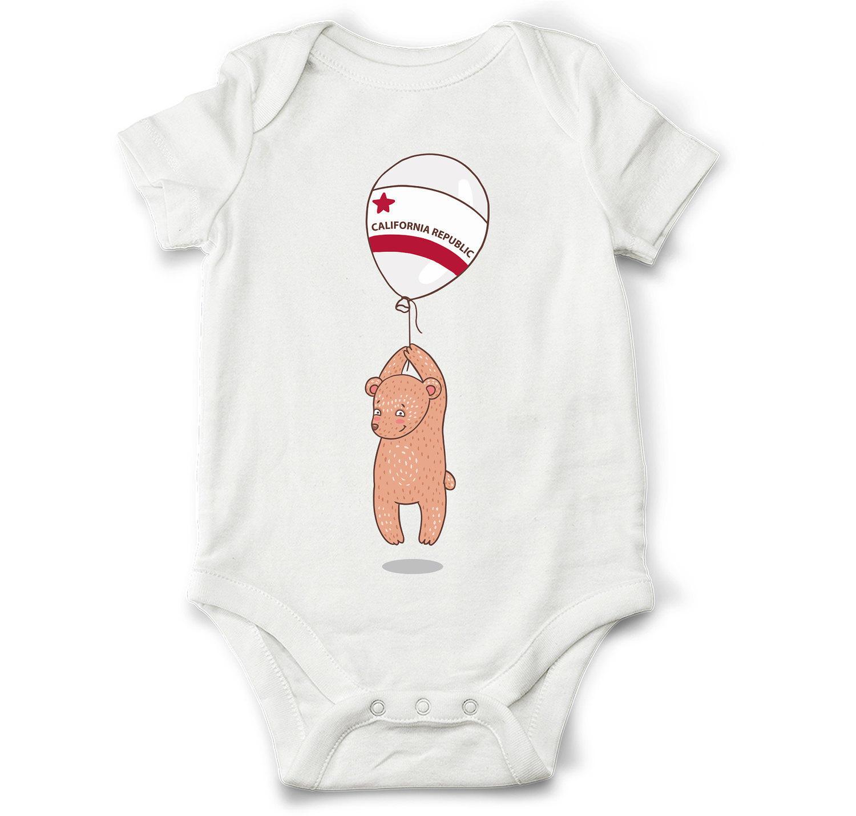 California baby bodysuit bear baby bodysuit travel baby
