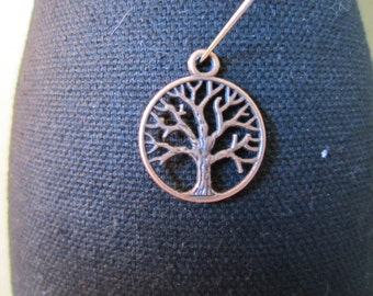 Copper Tree Pendant - Quantity of 10
