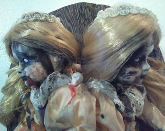Conjoined Zombie Doll!