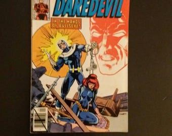 Daredevil #160 1979 Frank Miller art Black Widow Bullseye Marvel Comics