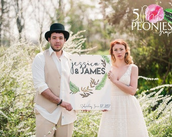 Wedding Sign - Wedding Signage - Wedding Welcome - Wedding Decor