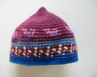 young child's toddler wool mohair hat