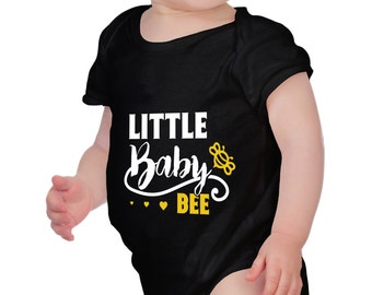 Little Baby Bee - Baby Clothing - Baby Bodysuit Best Gift - Baby Boy - Baby Girl - 100% Cotton