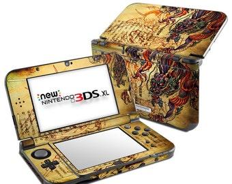 Nintendo 3DS XL Skin - Dragon Legend by Sanctus - Sticker Decal Wrap - New 3DS XL - Original 3DS XL