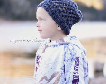 Toddler Slouchy Hat // Toddler Winter Hat // Toddler hat // Winter hat