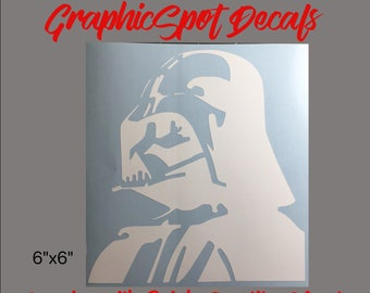 Darth Vader Decal | Vinyl Decal |