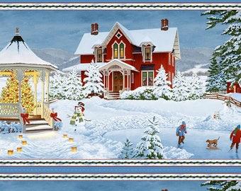 Winter's Eve Panel by Wilmington Prints