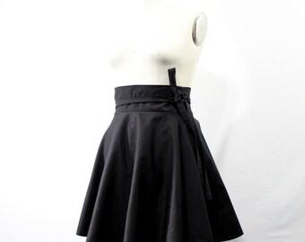 """Plus Size Skater Skirt High Waist Wrap Skirt ( 2 - 24 ) 25"""" L"""