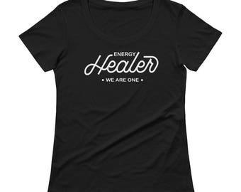Spiritual Healer T-Shirt, healer talisman, energy healer, spiritual clothing, energy tshirt, spiritual graphic tshirt for women, Healer Tee