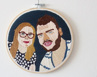 Embroidered Portrait-2 persons-Custom made
