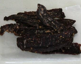 Biltong (great low-sodium option) Gourmet Beef Jerky - 1/4 lb