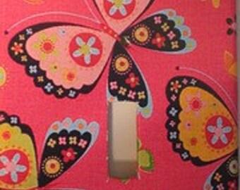 Cute Butterflies Light Switch Cover