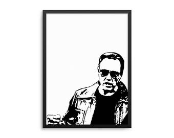 More Cowbell Poster, Funny SNL Wall Art, Christopher Walken Poster, I Got A Fever Quote Art, Music Room Decor, Funny Music Studio Wall Art