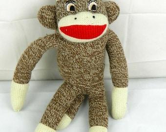 As IS Sock Monkey stuffed animal