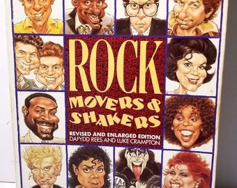 Rock Movers & Shakers Revised  Enlarged Ed Reese  Crampton Paperback