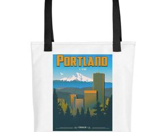 "Portland ""P-Town"" Oregon | Tote bag"