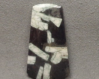 CHINESE WRITING STONE Or Rock Cabochon