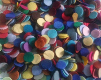 "110 1"" New colors added  Wool penny rug circles"