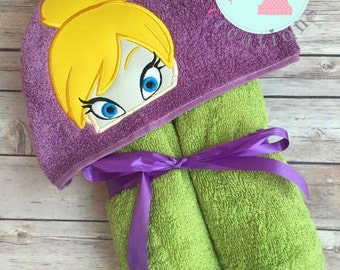 Neverland Inspired Hooded Towels