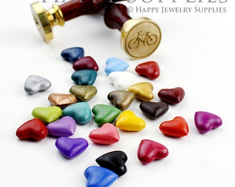 26pcs Each Color Heart Shaped Sealing Wax for Wax Seal Stamp (SW-D)