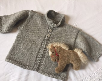 Oliver & Olivia Baby Sweater Pattern