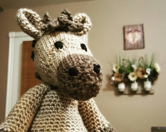 Horse Stuffed Animal. Amigurami. Stuffed Toy.