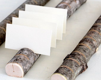 Woodland Multi Place Card Escort Card Business Card Holders  for Weddings, Business, Crafter, Artists