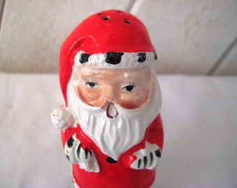 Vintage Santa Clause figurine, santa statue, collectible, vintage Christmas decor, 1950s, mid century, holiday decor, 1178