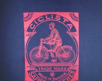 CICLISTA VINTAGE cycle t shirt
