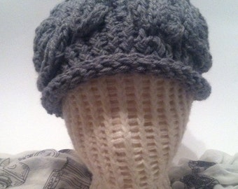 Knit Brain Hat