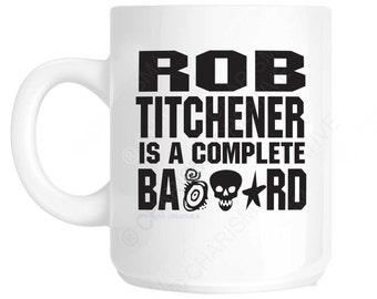 Rob Titchener Archers Novelty Fun Mug CH474