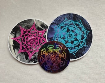 3 Pack Stickers