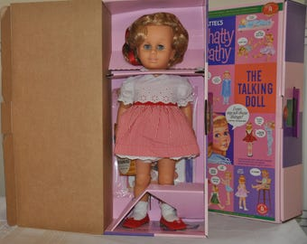 reproduction of the  original 1960 chatty cathy