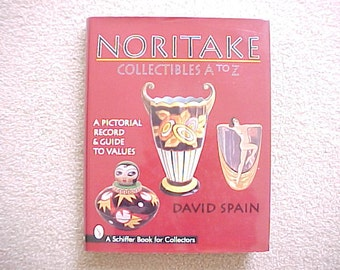 Noritake Collectibles A to Z by David Spain - A Reference Book, Japanese Porcelain Art Deco Giftware, Vintage Made in Japan Figurines