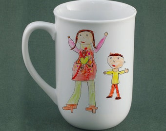 Your Childs Art on a Mug -Personalized Gift