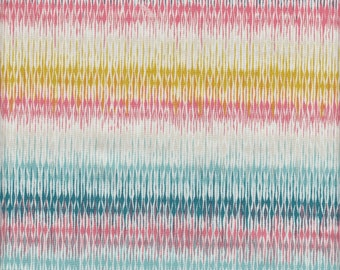 Art Gallery Fabrics Etno Looming Love in Pastel - Half Yard