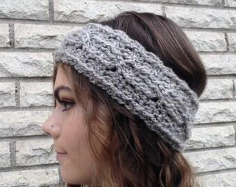 Crochet Cabled Earwarmer