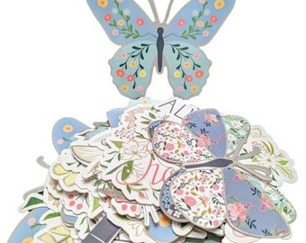 Die Cut, Butterfly Die Cut, Butterfly Embellishments, Scrapbooking, Craft Supplies, Paper Butterfly, Butterfly, Die Cut Butterfly, 30