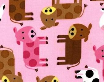 Mini patchwork fabric coupon cow 54cmx22 cm
