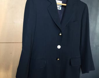 MOSCHINO | The jacket Cheap and Chic by Moschino | Vintage Jacket Navy jacket Wool Jacket | Jacket