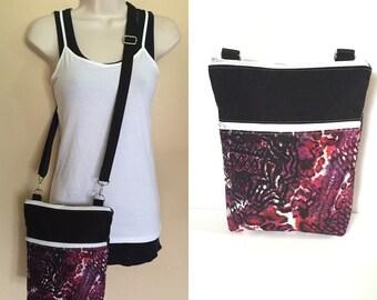 Sale***Tie-Dye, adjustable Crossbody/sling/hobo/shoulder bag