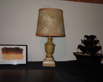 Game of Thrones Inspired Westeros Map Fabric Table Lamp