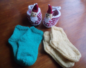 Baby Slippers and Socks