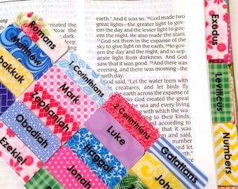 CATHOLIC Primary Multicolored Books of Bible Tabs by Victoria Anderson