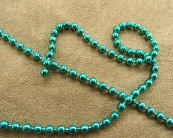Metal chain - 0.35 cm - Green